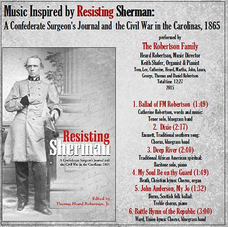 CD Cover | Tom Robertson Books