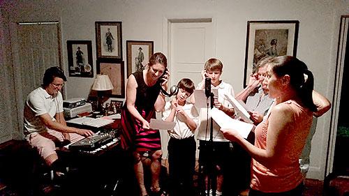 Recording Photo | Tom Robertson Books